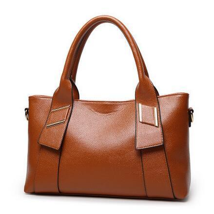 Buckle  Leather Handbags - MiKlah