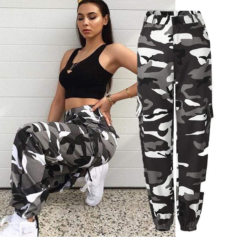 Camouflage Cargo Pants - MiKlah