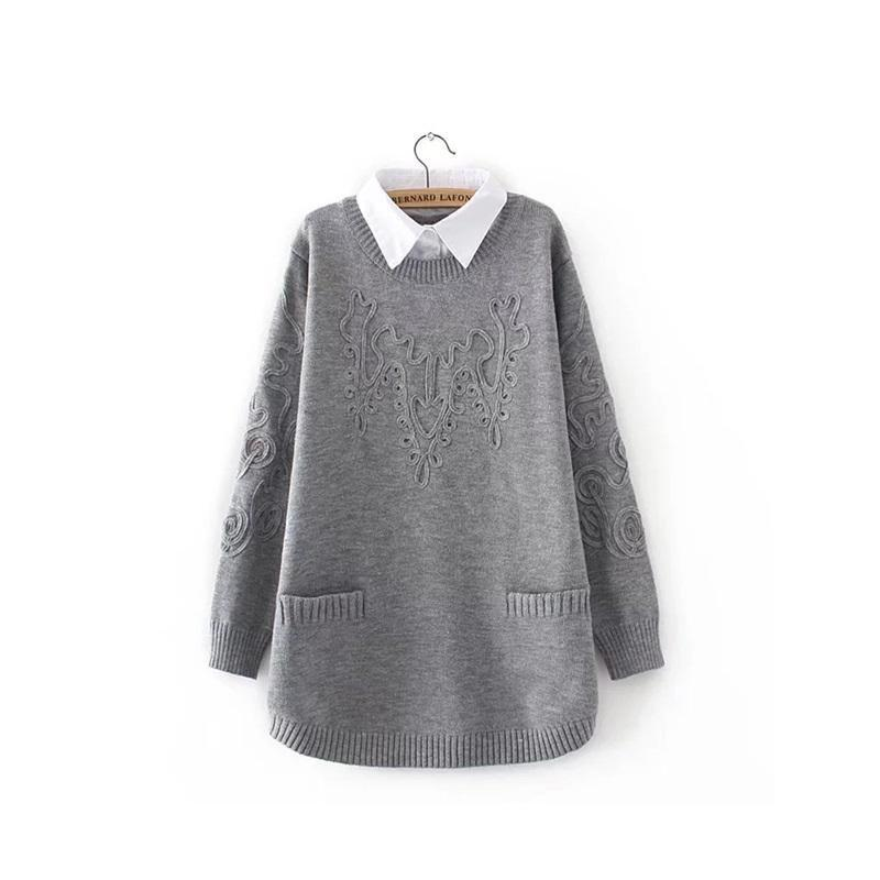 MIK High Quality Oversized Cashmere Sweater - MiKlah