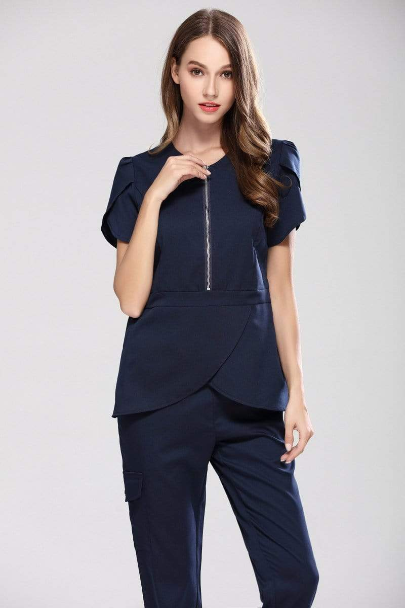Slim Fit Scrub Set - MiKlah
