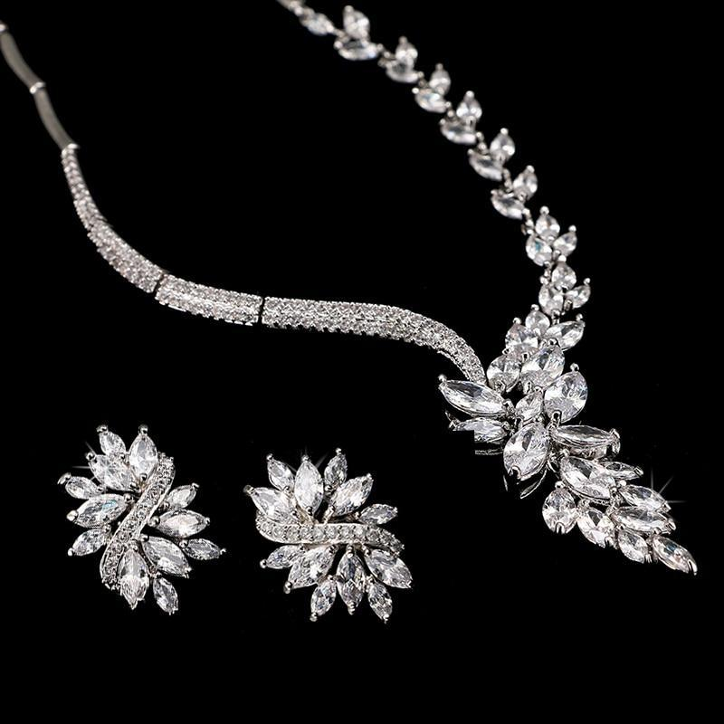Exquisite Marquise Jewelry Sets - MiKlah