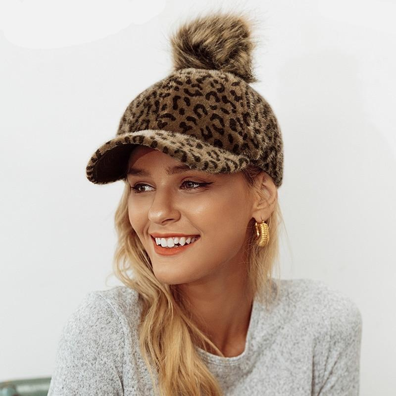 Leopard Winter Cap - MiKlah