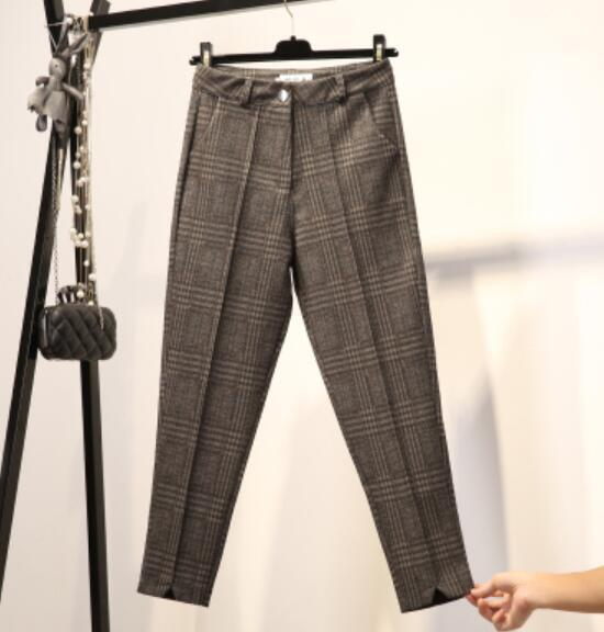 Lattice Casual Harem Pants - MiKlah