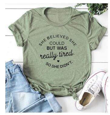 She Tired T-Shirts - MiKlah