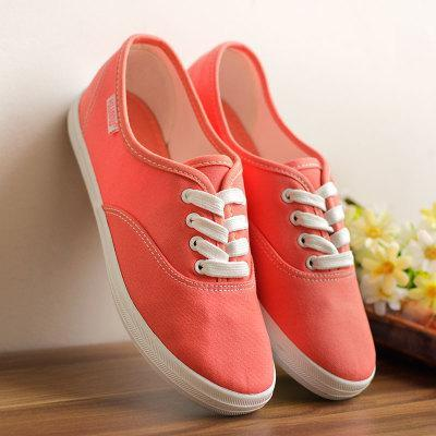 MIK Vulcanize Canvas Breathable Candy Colors Sneakers - MiKlah