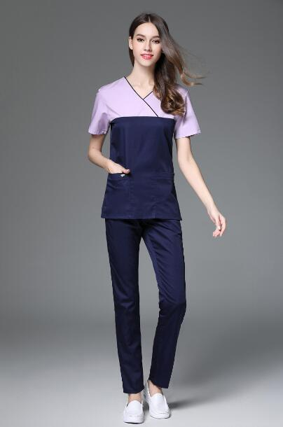 V-neck Surgical Medical Scrub - MiKlah