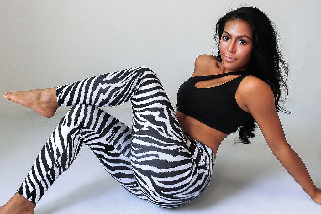 Zebra In Leggings - MiKlah