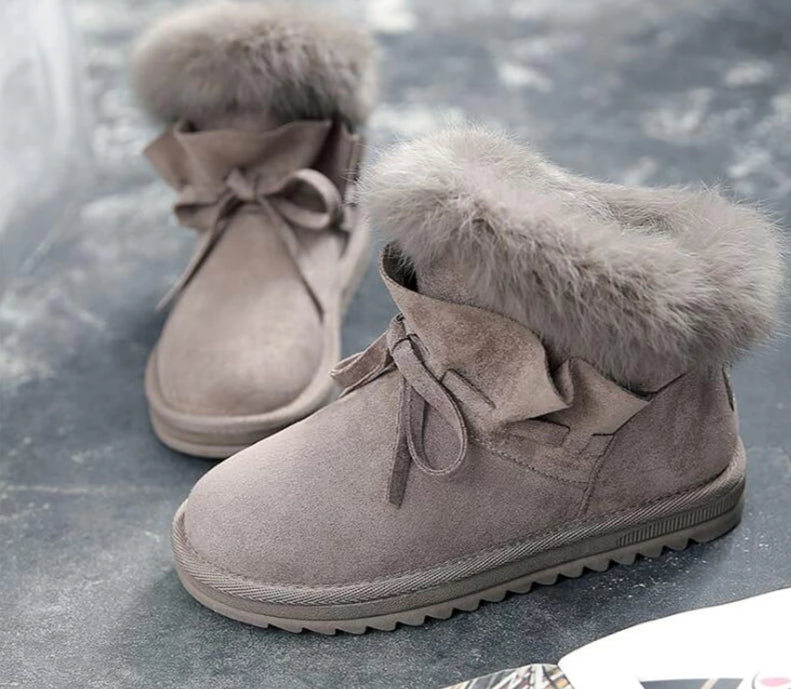 SnowLady Ankle Boots - MiKlah