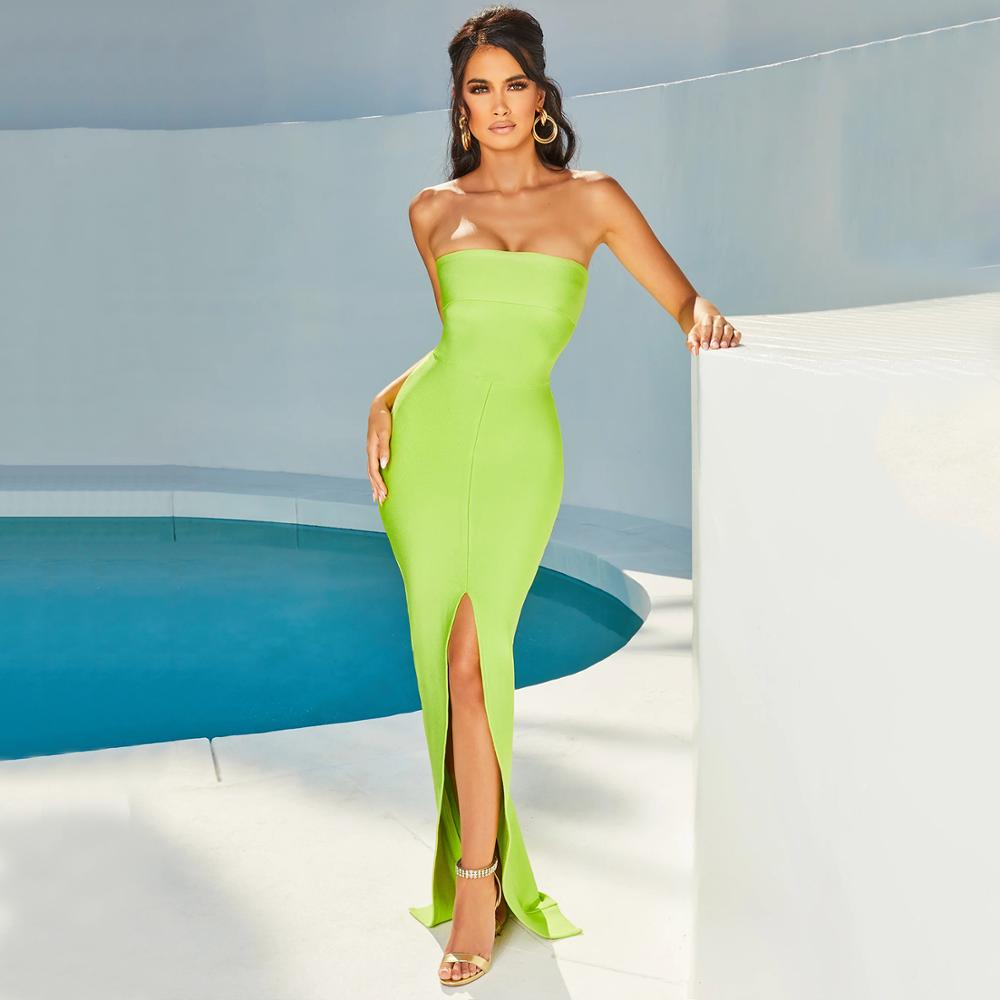 Simona Long Red Carpet Dress - MiKlah