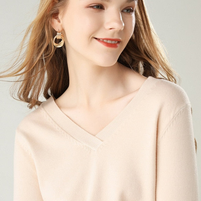 Orchard Cashmere Sweater - MiKlah