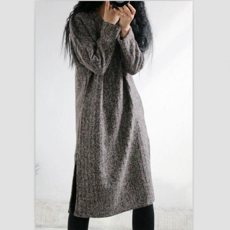 Winter Wool Dress - MiKlah