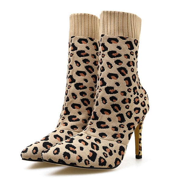 Leopard All the Way Boots - MiKlah