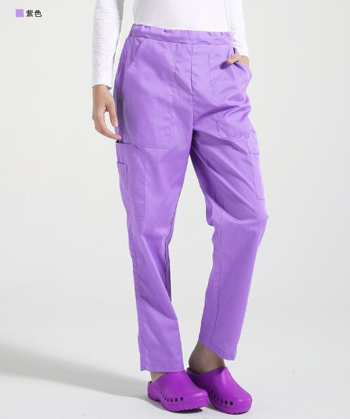 Medical Multi-pockets Bottoms - MiKlah