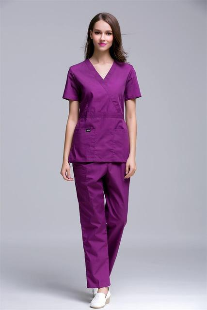 Slim Fit Nurses Scrub Sets - MiKlah