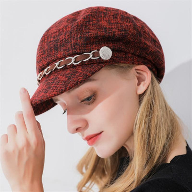 Fashion Women's Wool Beret Cap Winter Warm Hat - MiKlah