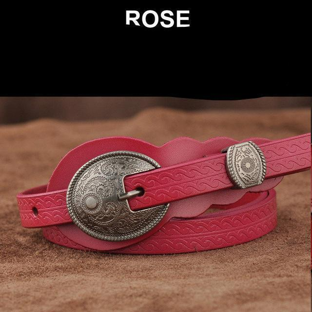 MIK Buckle Genuine Leather Belt - MiKlah