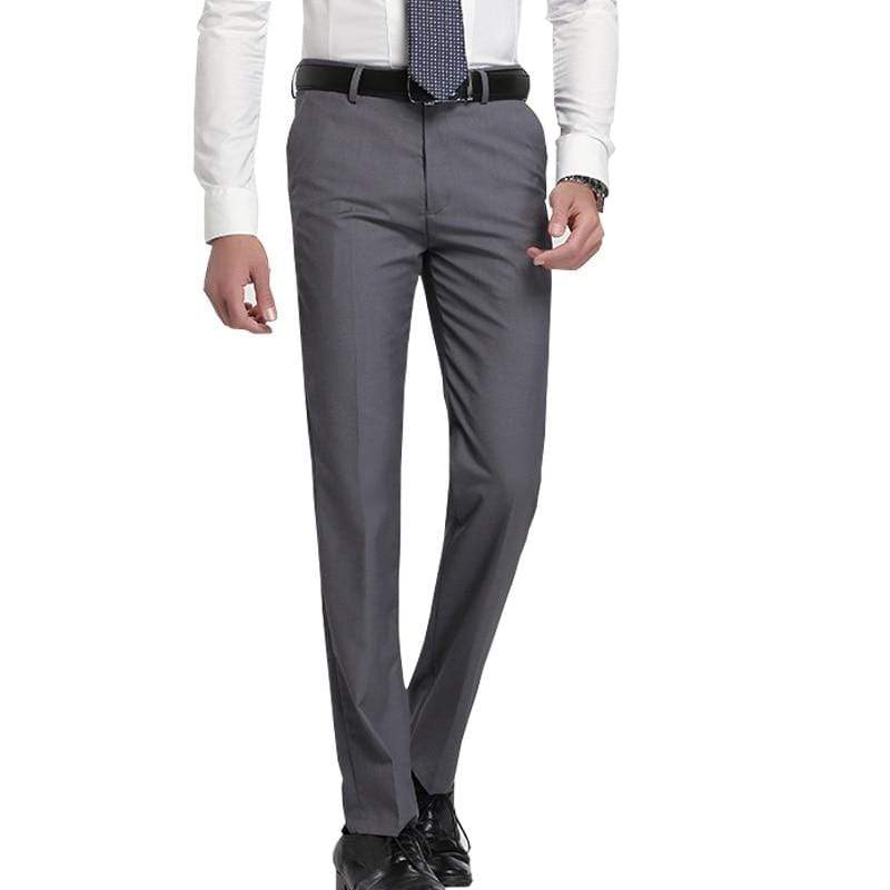 Slim Fit Business Pants - MiKlah