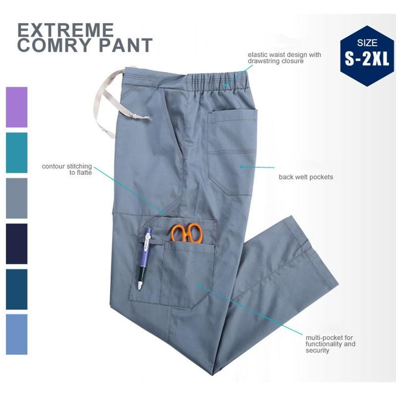 Unisex Medical Scrub Pants - MiKlah