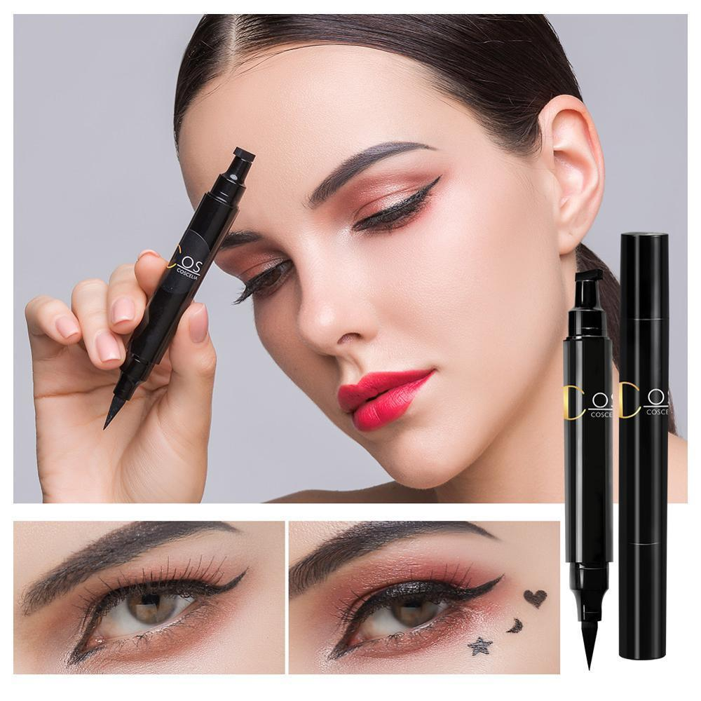 Waterproof Double-ended Eyeliner Stamps - MiKlah