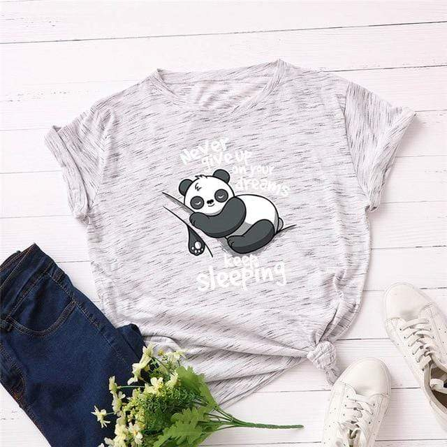 Cute Panda T-Shirt - MiKlah