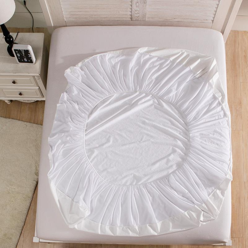 Cotton Terry Waterproof Mattress Protector - MiKlah