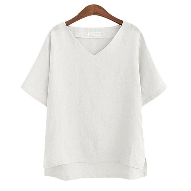 Cotton Vintage Loose Top - MiKlah