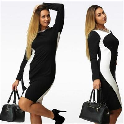 MIK Office Lady Slim Elegant Dresses - MiKlah