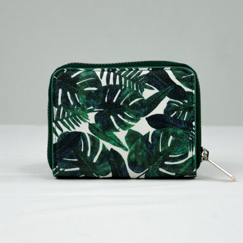 Botanical Leaves Small Purse