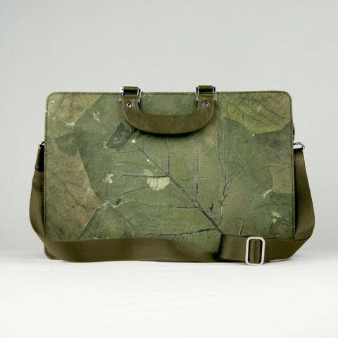 Green Leaf Work Bag