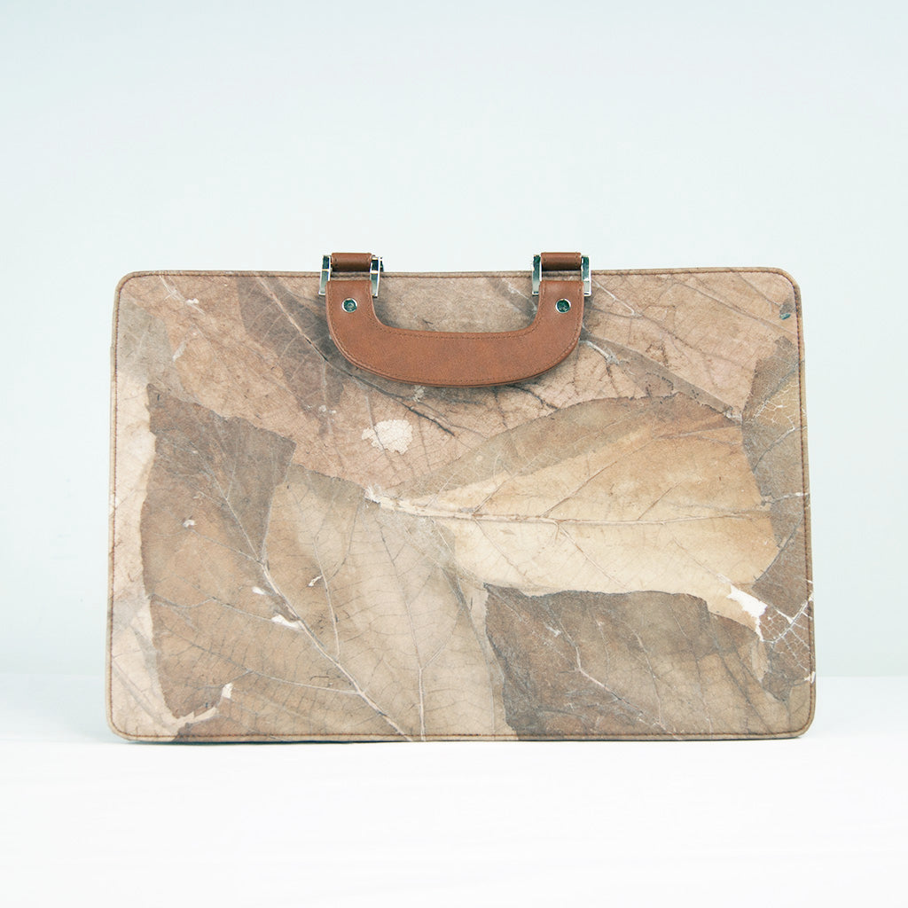 Brown Leaf Work Bag