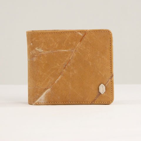 Tree Leaf Vegan Wallet - Natural