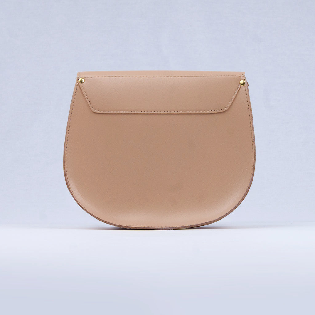 Cork Leather Bailey Saddle Bag