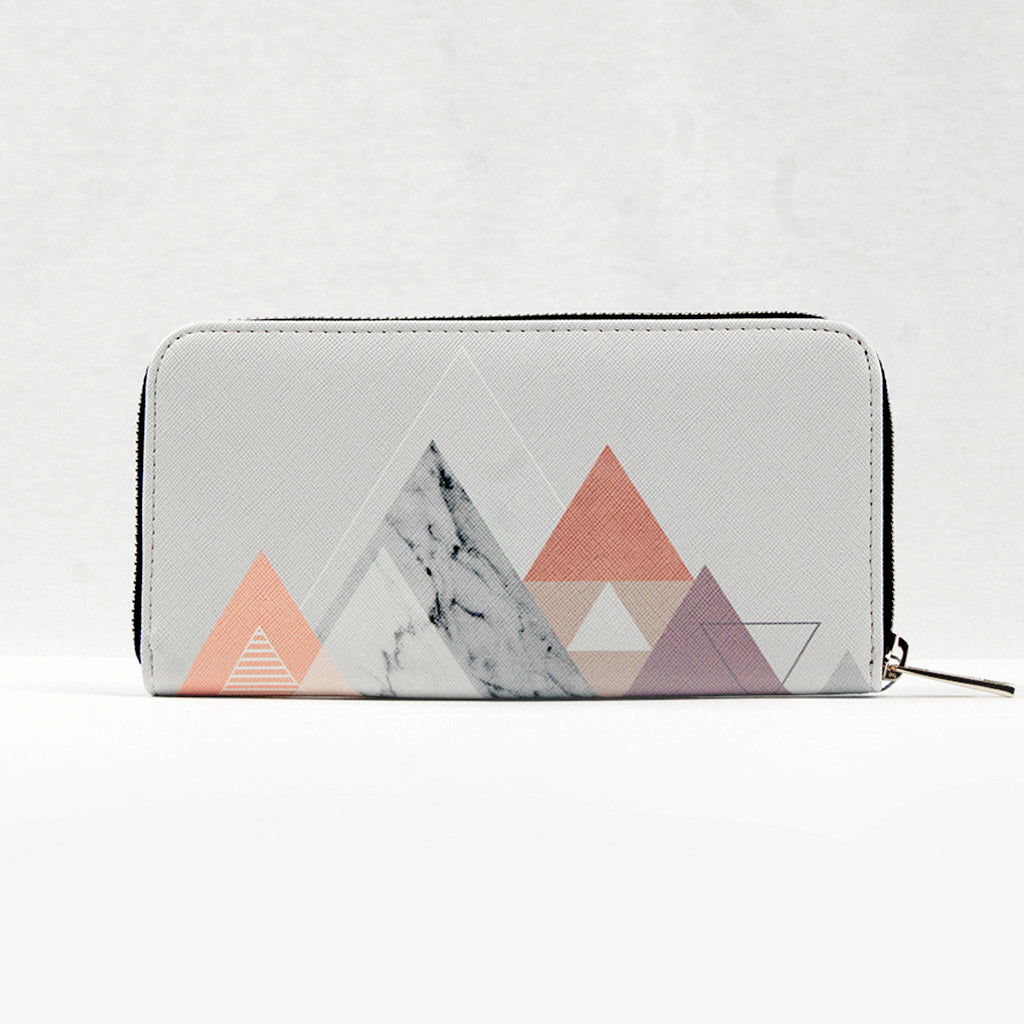 Vegan Graphic Print Purse