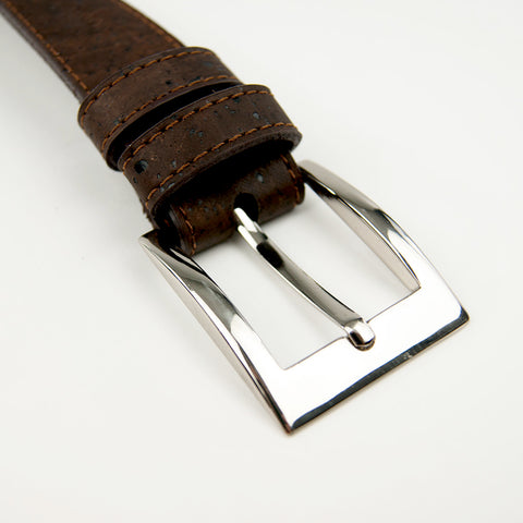 Brown Cork Leather Belt