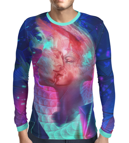 Men's Tee Long Sleeve - Ketamine