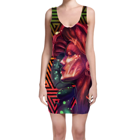 BodyCon Dress Mini - Psilocybin