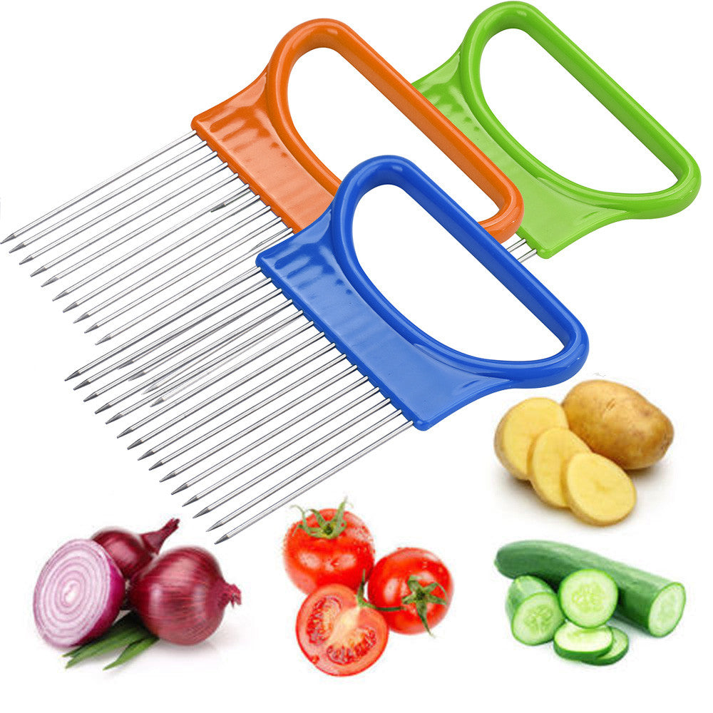 Easy-Cut Onion Holder