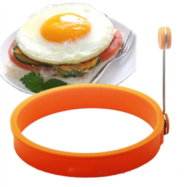 Silicone Fried Egg / Pancake Fun Shape Maker