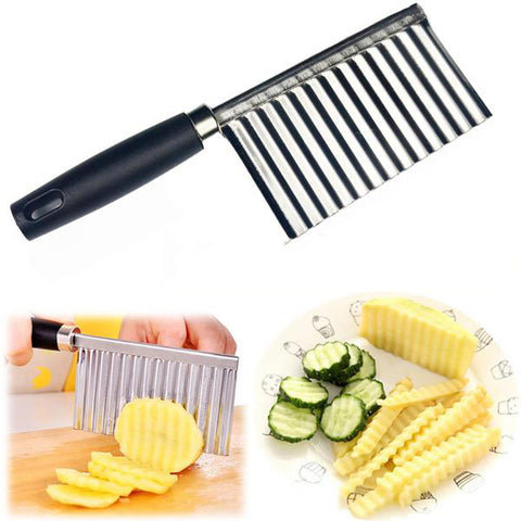 Wavy Edged Knife for Potato Lovers
