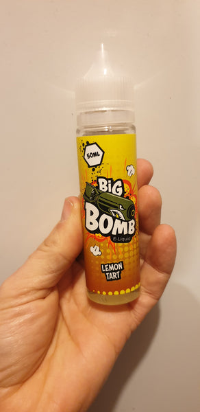 Big Bomb Lemon Tart 50ml Shortfill