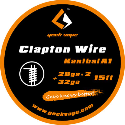 Genuine Geek Vape Clapton Wire 15ft