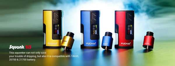 Authentic Sigelei Fuchai Squonk 213 Kit