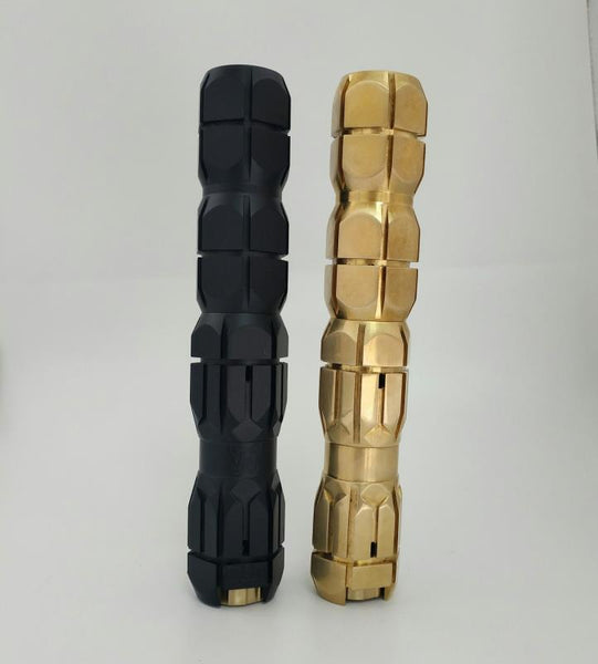 Underground MCM Styled Stackable Mechanical Mod - 25mm Diameter, 1 / 2 x 18650 / 20700 / 21700