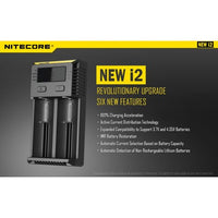 Genuine Nitecore NEW i2 Charger
