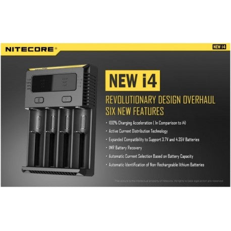 Genuine Nitecore New i4 Intellicharger