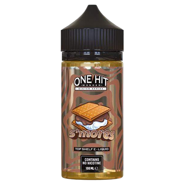 One Hit Wonder - S'mores USA Eliquid 100ml 0mg Short Fill