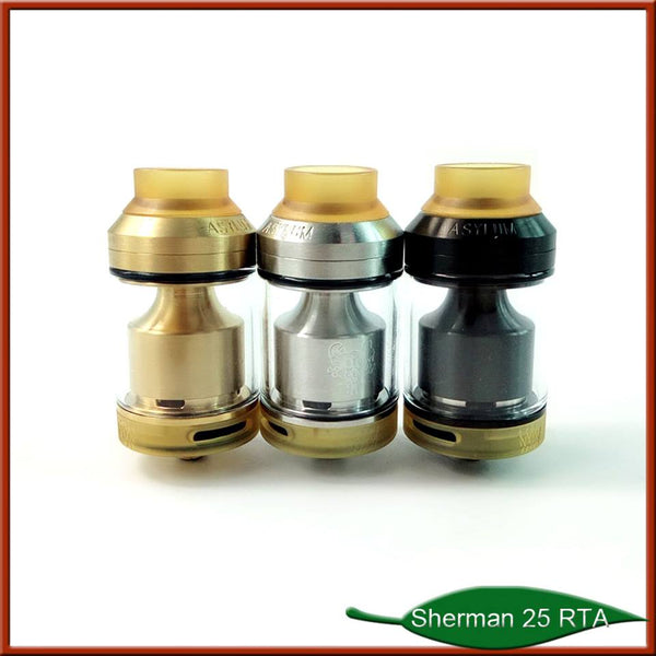 Kindbright Sherman V3 Styled RTA 316 Stainless Steel, 25mm