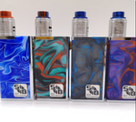 SOB Parallel Styled 18650 Mechanical Mod Kit 2x 18650 - Resin