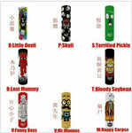 5pc 18650 Battery Wraps - Assorted Designs