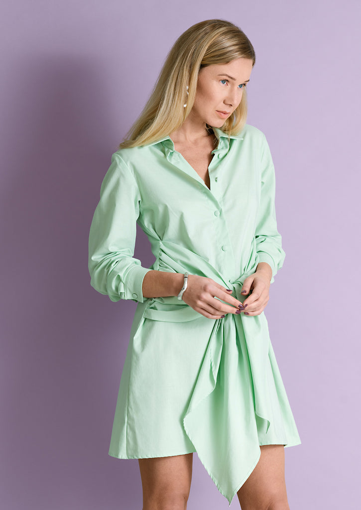 Mena Shirtdress
